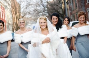 Rug up for your winter wedding