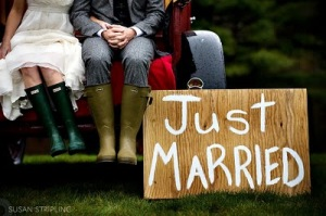 Gumboot wedding snaps!