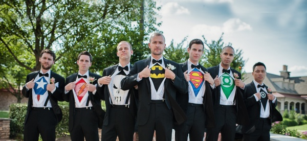 how to be a good groomsman rose tuxedo