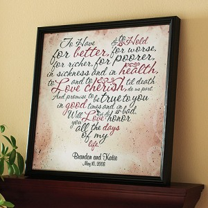 framed-wedding-vows