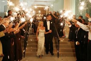 Wedding-sparklers-getaway