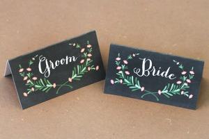 bride-groom-place-card
