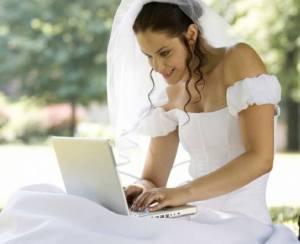 bride-on-computer