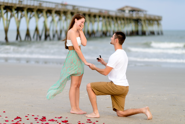 Предложение руки и сердца своей девушке